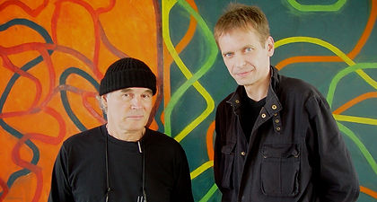 Klaus Guingand and Brice Marden - 2006 - New York - USA