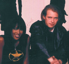 Naomi Campbell and Klaus Guingand in 1995