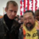 klaus Guingand and Takashi Murakami meet.