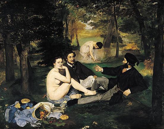 Édouard Manet - 1862/1863 - Le déjeuner sur l'herbe  