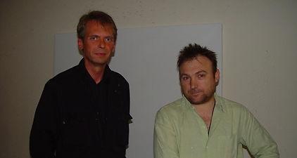Klaus Guingand and Miquel Barcelo - 2005 - Marbella - Espagne