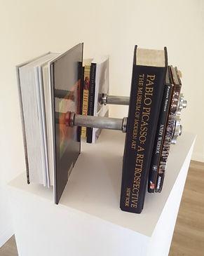 Cultural barbells - Klaus Guingand artwork