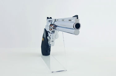 matthew 5.21, colt pyhton .357 magnum 6 inches, engraved artwork by klaus guingad