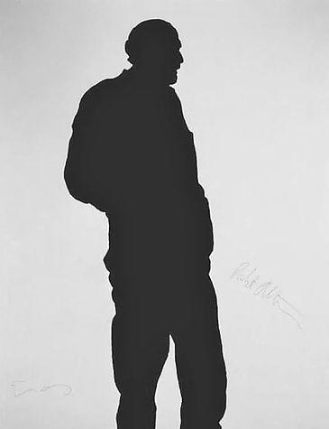 "Klaus Guingand Artwork ""Robert Altman's shadow"" -1993"