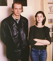 Charlotte Gainsbourg and Klaus Guingand - 1995