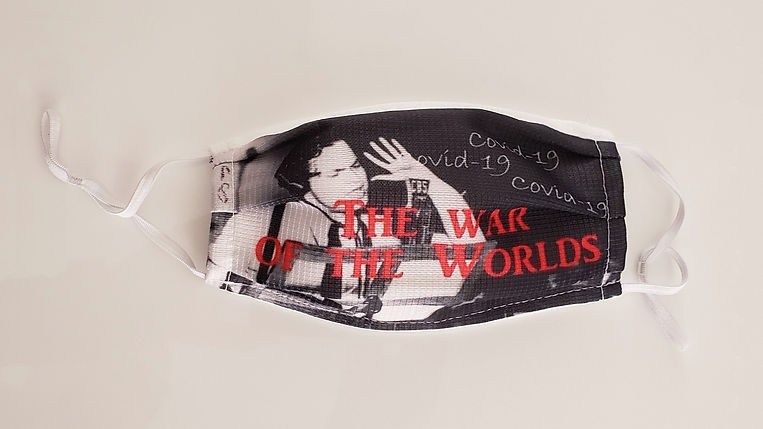 """""""The War of the Worlds"""" Klaus Guingand mask - 2020"""