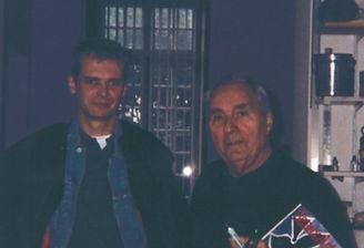 Klaus Guingand and Gottfried Gottfried Honegger - 1992 - Paris - France