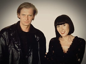 Klaus Guingand and Chantal Thomas in 1994