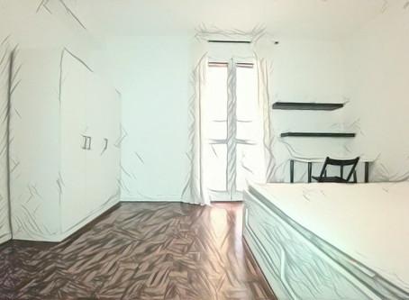 Villa con tre camere in affitto a Milano