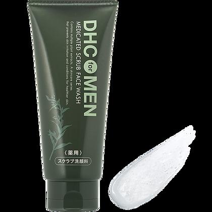 Medicated Scrub Face Wash for Men(Scrab-exfoliant pentru faţă)