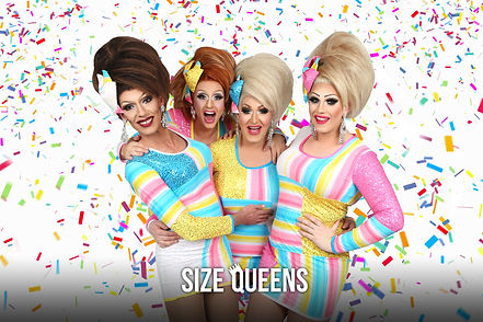 Size Queens Drag Entertainment Melbourne - Hens Party, Event Entertanment, Makeovers and more