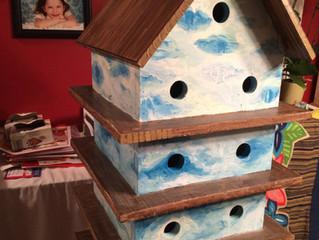Painting a birdie hotel
