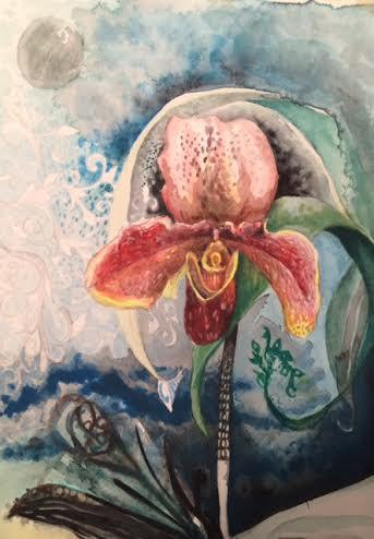 My work in progress... Moonlight Orchid