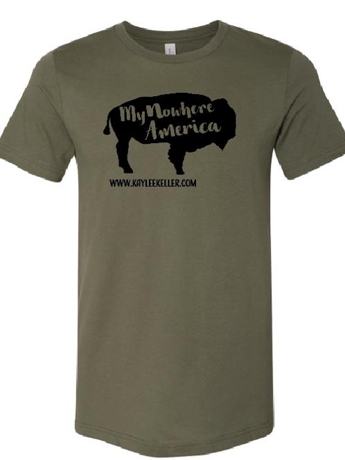 My Nowhere America- T Shirt