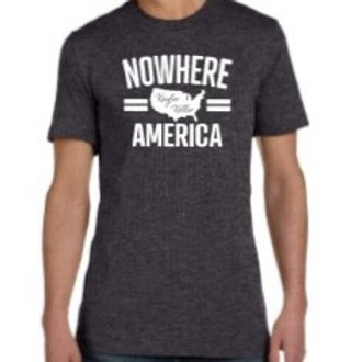 (KIDS) Nowhere America T-shirt