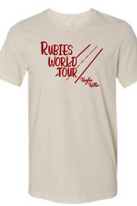 Rubies World Tour - T Shirt