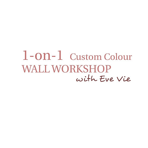 1on1 2HR Balloon WALL Workshop (Pick your own colours)