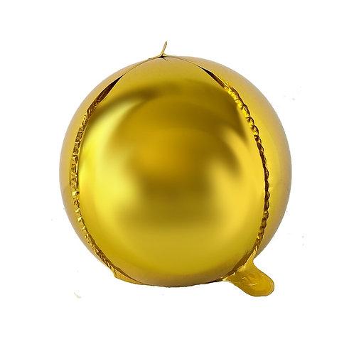 """22"""" Gold Orbz"""