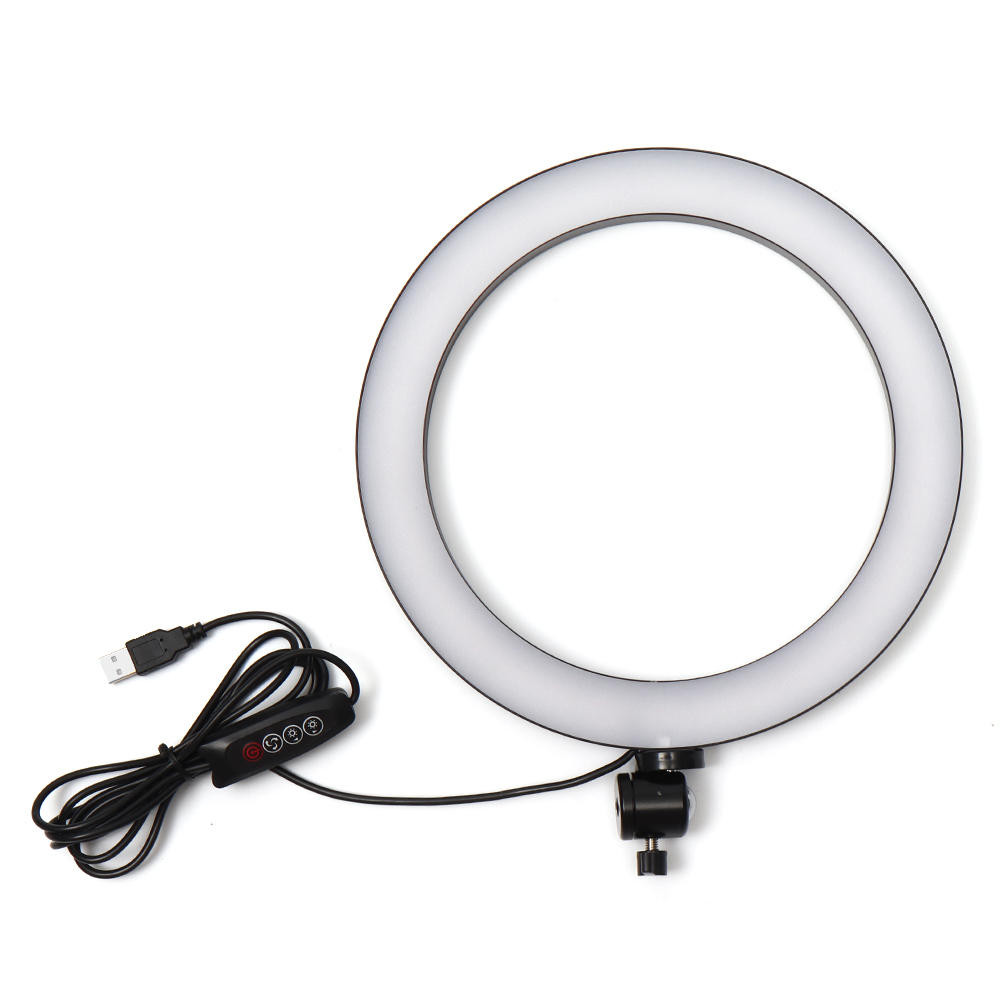 Light ring Streaming Studio from home
