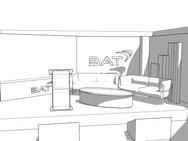 BAT 2D Render Set and Stage