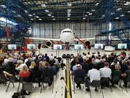 Thomas Cook's Manchester Hangar