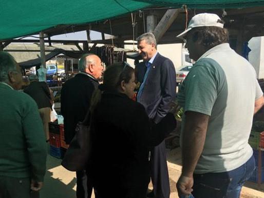 Επίσκεψη στη Λαϊκή Αγορά Πολεμιδιών