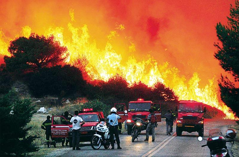 Πυρκαγιές στην Ελλάδα