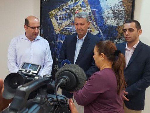 Συνάντηση Γ. Λιλλήκα με τον Δήμαρχο Λάρνακας κ. Βύρα