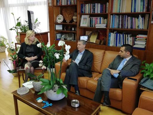 Συνάντηση με Υπουργό Εργασίας, Πρόνοιας και Κοινωνικών Ασφαλίσεων