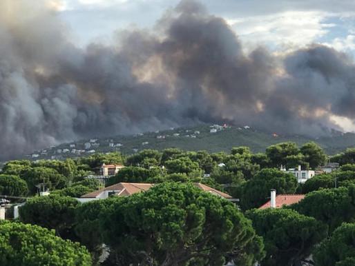 Φονικές πυρκαγιές στην Ελλάδα