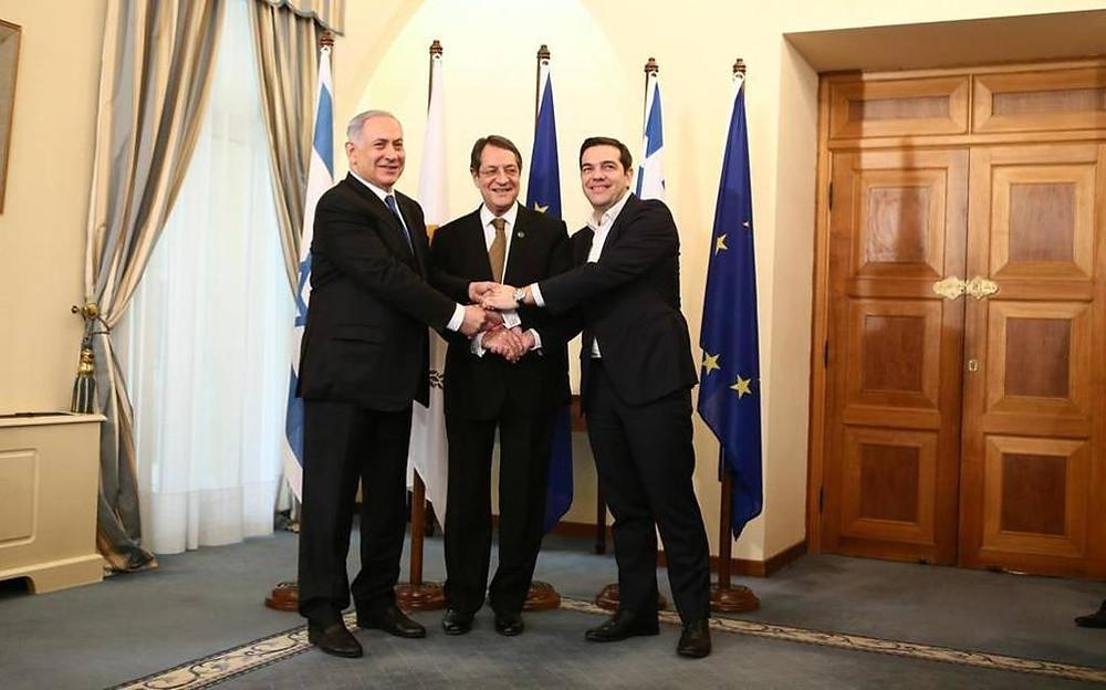 Τριμερής Κύπρος-Ελλάδα-Ισραήλ