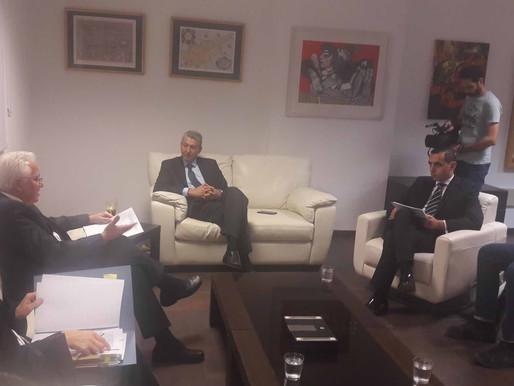 Συνάντηση Γ. Λιλλήκα με Υπουργό Δικαιοσύνης