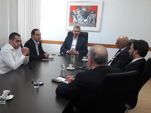 Συνάντηση Γ. Λιλλήκα με τον Σύνδεσμο Εμπορικών Τραπεζών