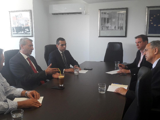Συνάντηση Γ. Λιλλήκα με Υπουργό Γεωργίας