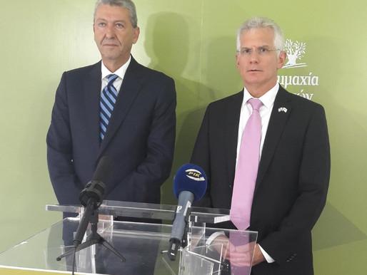 Συνάντηση Γ. Λιλλήκα με τον Πρέσβη του Ισραήλ