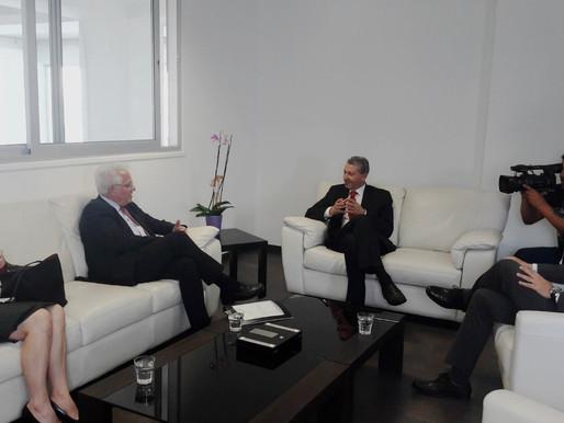Συνάντηση Γ. Λιλλήκα με τον Υπουργό Δικαιοσύνης