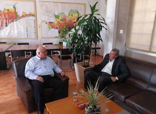 Συνάντηση Γ. Λιλλήκα με Δήμαρχο Κ. Πολεμιδιών