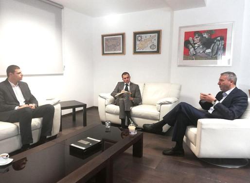 Συνάντηση με τον Υφυπουργό Τουρισμού