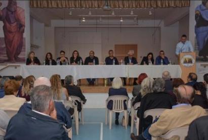 Ομιλία Λ. Γενεθλίου κατά την Πανκοινοτική Συγκέντρωση