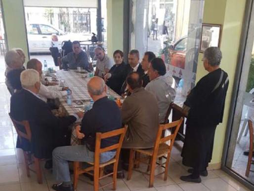 Συνάντηση Γ. Λιλλήκα με την Μαρωνίτικη Κοινότητα
