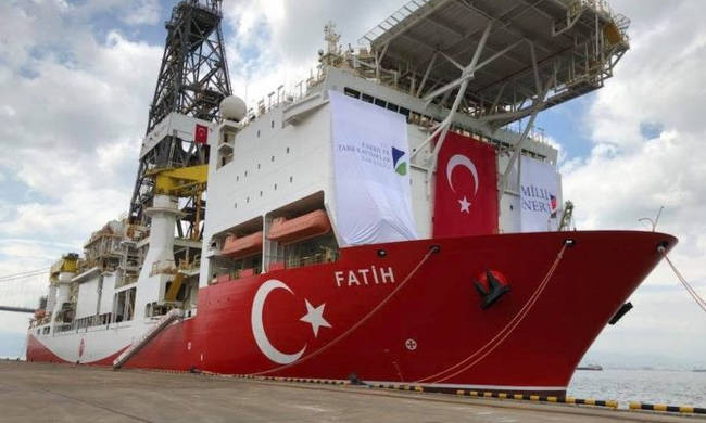 Τουρκικό γεωτρύπανο