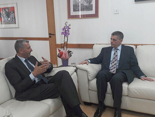 Συνάντηση Γ. Λιλλήκα με τον Έλληνα Πρέσβη