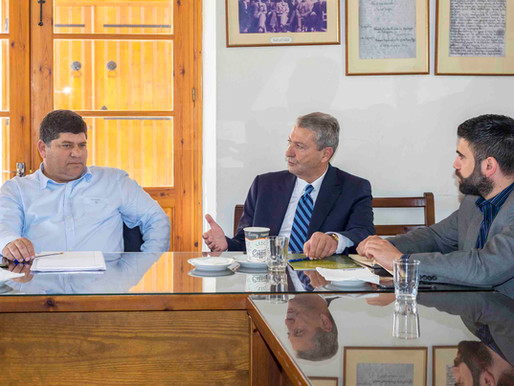 Συνάντηση με Δήμαρχο Γερμασόγειας