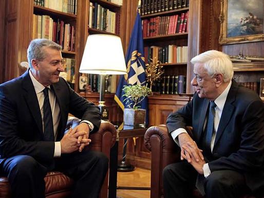 Τηλεφωνική επικοινωνία Γ. Λιλλήκα με τον Πρόεδρος της Ελληνικής Δημοκρατίας