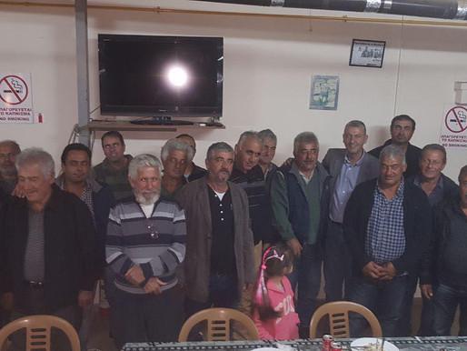 Συνάντηση Συμμαχίας Πολιτών με αγροτικό κόσμο Αμμοχώστου