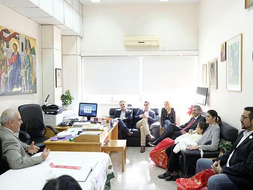 Επίσκεψη Γ. Λιλλήκα στο Μακάρειο Νοσοκομείο