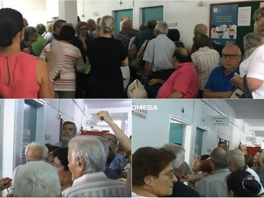 Ταλαιπωρία ηλικιωμένων στα Κέντρα Εμβολιασμού