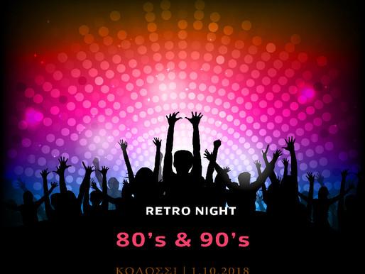 Retro Night 80's & 90's