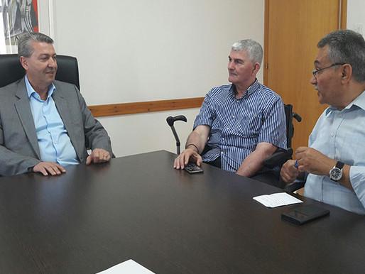 Συνάντηση Γ. Λιλλήκα με Δήμο Λύσης