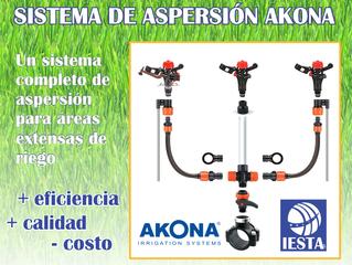 """SISTEMA COMPLETO DE ASPERSIÓN DE 1/2"""" AKONA"""